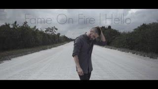 Hello - Adele lyrics ( Cover Fame On Fire )