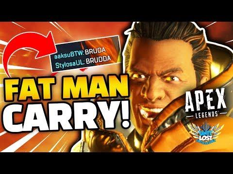 CARRY THE FAT MAN! *NEW* Apex Legends Season 1 Content?!