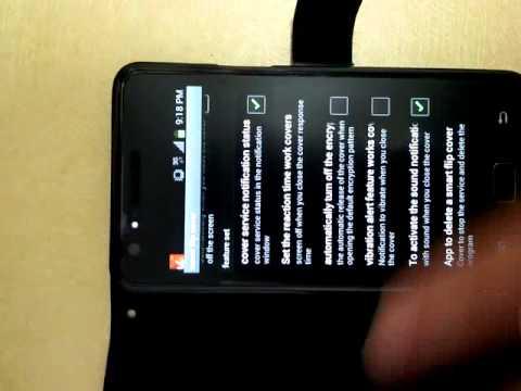 Video of SmartFlipCover