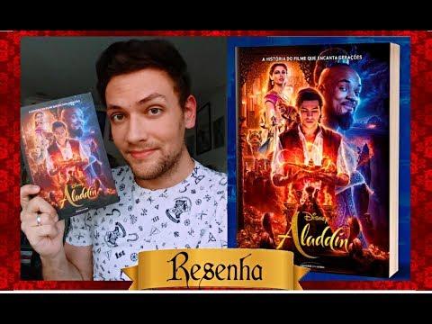 Resenha ALADDIN - O Livro do Filme (Universo dos Livros)