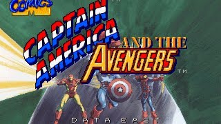 Captain America and the Avengers - Arcade - Playthrough