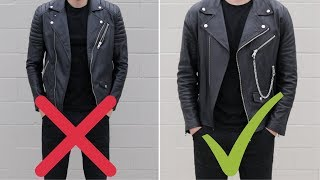 10 Golden Rules Of Leather Jackets