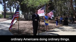 UC San Diego 17th Anniversary Remembrance of Lives Lost on September 11, 2001