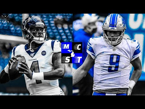Houston Texans vs Detroit Lions Thanksgiving 2020 Prediction Video!!!