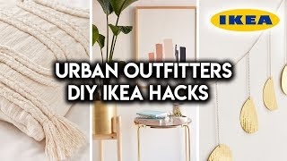 DIY IKEA HACKS | URBAN OUTFITTERS INSPIRED HOME DECOR