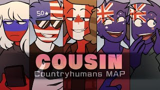 Cousin | Countryhumans MAP [ Complete ]