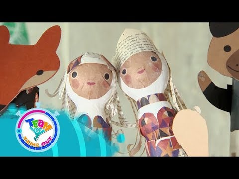 Papemelroti Recycled Dolls   Team YeY Timeout