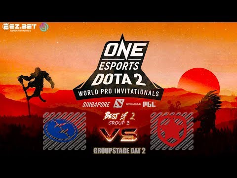 Evil Geniuses  vs Gambit Esports | Bo2 | Group Stage | ONE Esports World Pro Invitational Singapore
