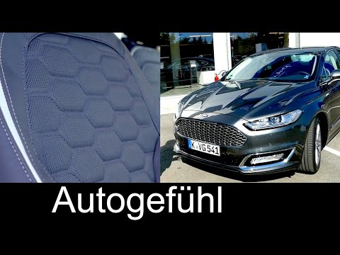 New Ford Mondeo (Fusion) Vignale REVIEW Ford premium strategy with FordStore - Autogefühl