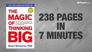 The Magic of Thinking Big | Book Summary | Believe Big & Achieve Big