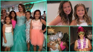"GETTING READY FOR THE PARTY "" QUINCEANERA "" ALISSON & EMILY"
