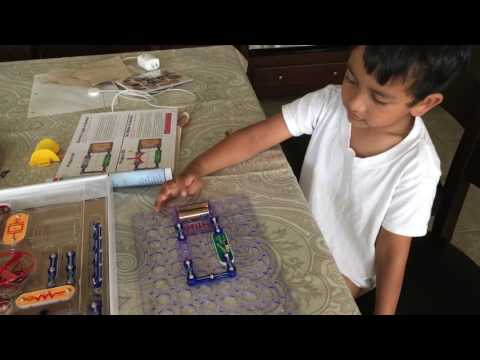Veer's 1st circuit board project