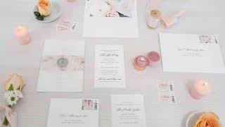 Camille Wedding Invitation Suite From Shine Wedding Invitations