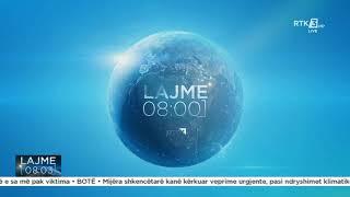 RTK3 Lajmet e orës 08:00 29.07.2021