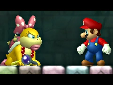 New Super Mario Bros Wii Walkthrough - Part 2 - World 2 (100