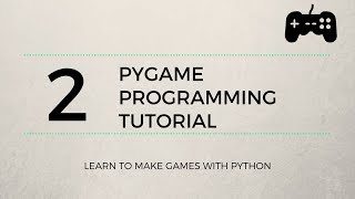 Pygame Tutorial #2 - Jumping and Boundaries