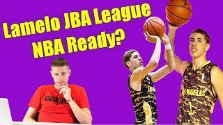Professor reacts to Melo Ball JBA League... Ready for NBA?