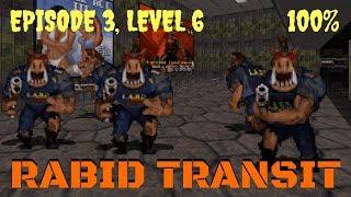 Duke Nukem 3D (100%) Walkthrough (E3L6: Rabid Transit)