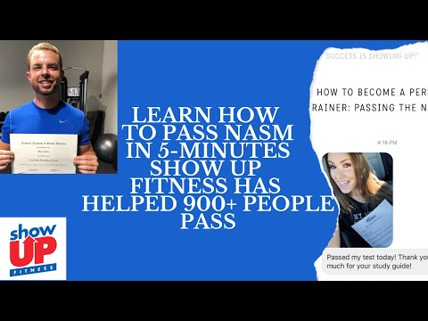 How To Pass NASM in 5-minutes | 900 people have passed NASM ...