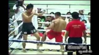 Myanmar Lethwei vs Japan kickboxing