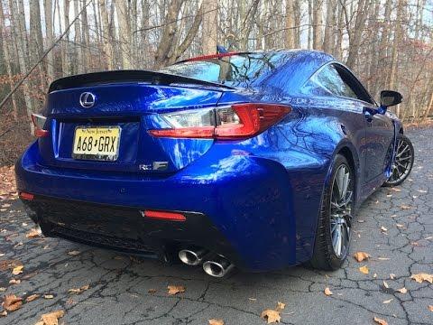 2016 Lexus RC-F – Redline: First Impressions