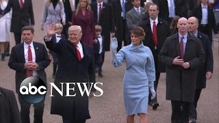 The 2017 Inauguration Parade