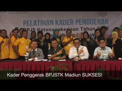 Pelatihan Kader Penggerak BPJS Ketenagakerjaan Cabang Madiun
