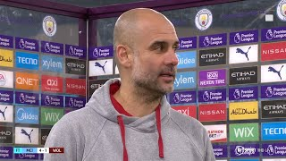 """""""Manchester United is the only thing I care about!"""" Guardiola taking each game as it comes!"""