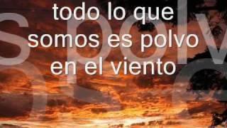 Dust in the wind - Kansas (subtitulado en español)