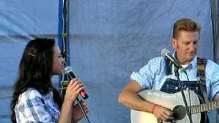 Joey + Rory performs loved the hell