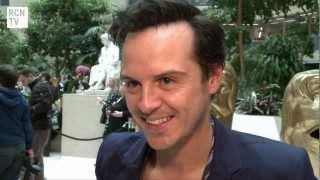 Sherlock Andrew Scott Interview - BAFTA Television Awards 2012