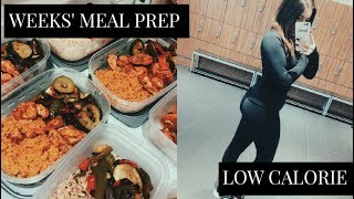 A WEEK'S MEAL PREP IN 10 MINS! UNDER 400 CALORIE | YUMMY, FILLING, HEALTHY + CHEAP | WEIGHT LOSS