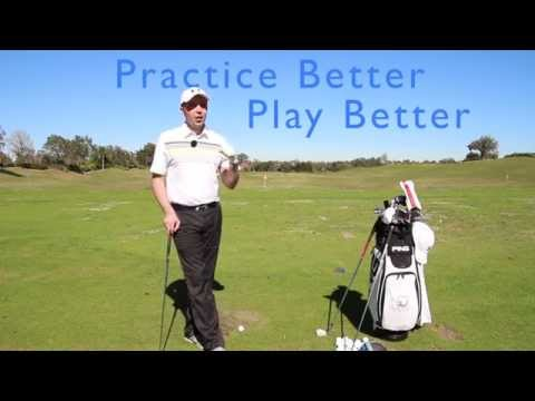 Hit LESS Practice Balls and Play Better Golf