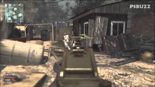 Modern Warfare 3 Online Multiplayer Killstreaks Gameplay PS3 Multiple Maps