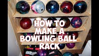 DIY: How To Make A Bowling Ball Rack