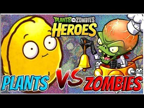 Gargantuar's Feast vs Wall Nut Bowling - Plants vs Zombies Heroes Epic MOD