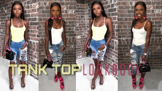 FASHION LOOK BOOK 2019 | HowTo: Style Basic Tank Tops