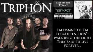 Triphon - Fall of the Tyrant (lyrics)