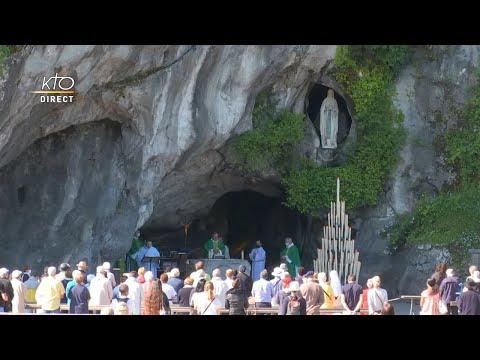 Messe de 10h à Lourdes du 7 juin 2021
