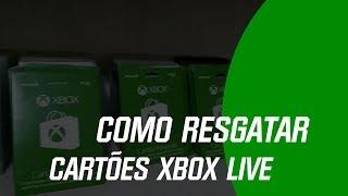 Cartão Xbox Live R$ 100 Reais - Brasil