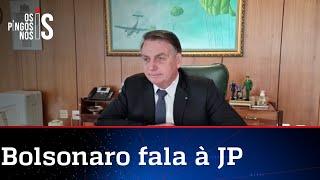 Bolsonaro concede entrevista exclusiva à Jovem Pan Itapetininga