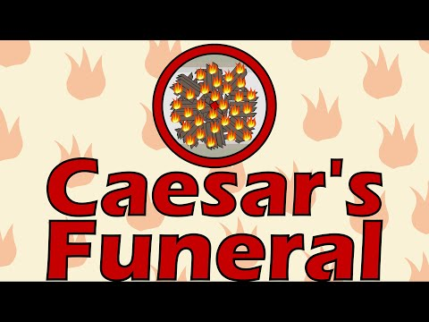 Caesar's Funeral (44 B.C.E.)