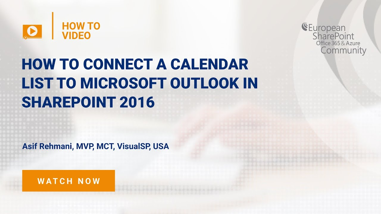 Office Calendar 2016 : How to connect a calendar list to microsoft outlook in sharepoint