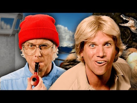 Jacques Cousteau vs Steve Irwin. Epic Rap Battles of History