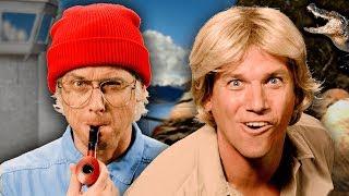 Jacques Cousteau vs Steve Irwin. Epic Rap Battles of History