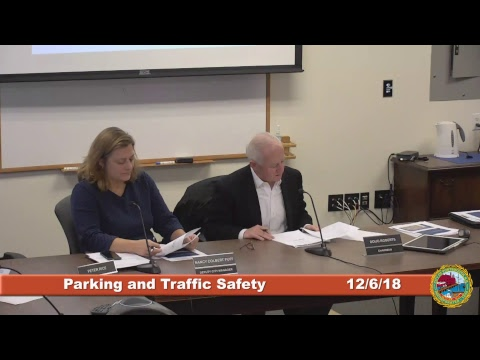 Parking and Traffic Safety Committee 12.6.2018