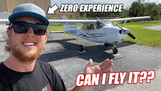 I've Always Said I Could Fly an Airplane With NO HELP... Finally, Someone Let Me Try!!!