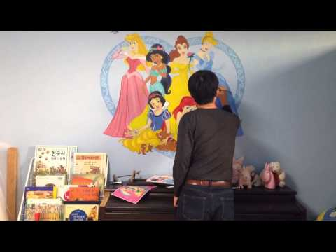 Disney Princess Wall Paint Art