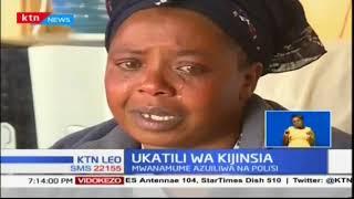 Mwanamke aliyechomwa moto na mumewe afariki