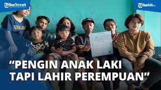 Cerita Pasutri Punya 16 Anak di Malang: Pengin Laki-laki tapi Dapat Perempuan, Akhirnya Keterusan